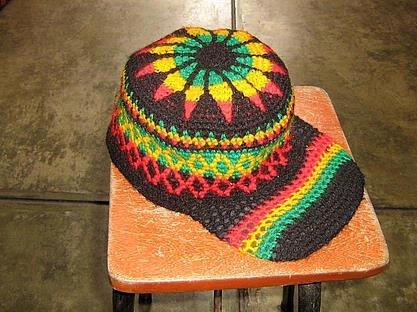 Cap Beanie Hat Caribic Caribbean Rasta look
