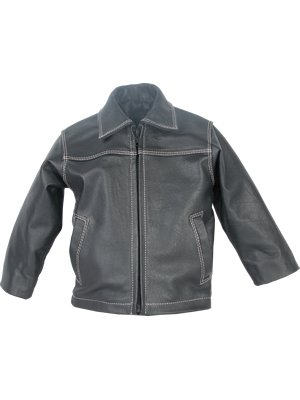 Genuine lamb nappa leather boys Jacket from Aliaga