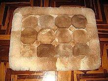 Alpaca fur rug from Peru,carpet 39 x 24 inches