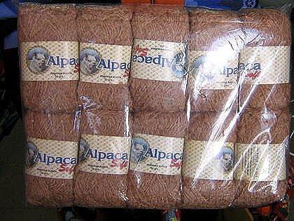 500 Gramm pure brown Babyalpaca wool,knitting wool