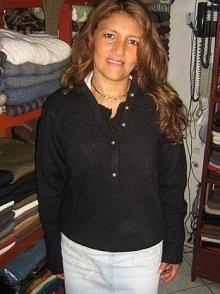 Black sweater,pure Babyalpaca wool,all Sizes in stock