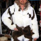 Long fur coat for men,babyalpaca pelt,outerwear