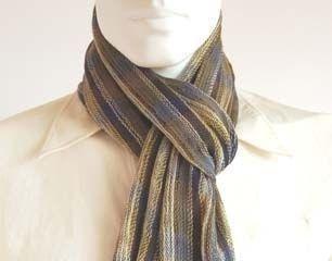 Light Scarf,mix of Babyalpaca wool and Silk fabric