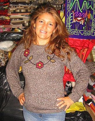 Sweater, jumper with round neck,pure Alpacawool
