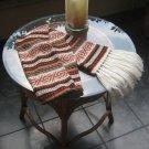 Soft Scarf, Alpaca wool, peruvian designed shawl