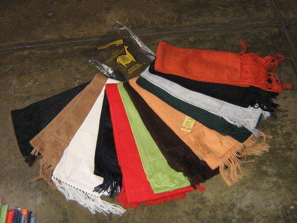 Lot of 12 Alpaca wool scarves,shawls wholesale
