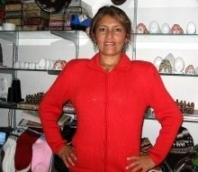 Red cardigan with ziper, Alpacawool,all sizes in stock