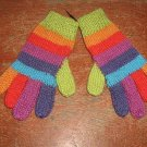 colorful alpaca wool gloves,very soft mittens