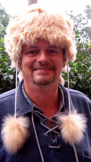 Folklorical Fur hat, cap made with pure Alpaca fur