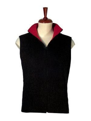 Practical Vest knitted with pure Alpaca wool