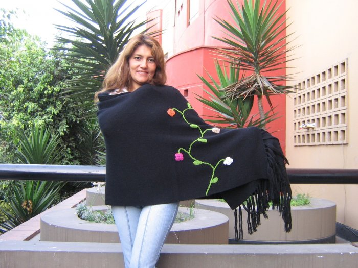 XL Shawl, soft alpaca wool wrap,outerwear