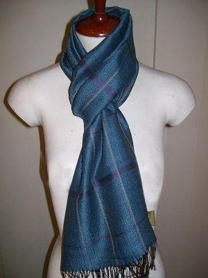 Light Scarf, shawl of 70% Babyalpaca wool,30% Silk