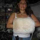Alpaca pelt Hand warmer, fur mittens