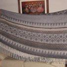 blanket,coverlet made of alpacawool, bedspread