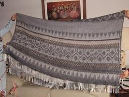 blanket,coverlet made of alpacawool, bedspread
