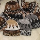 Mixed lot 25 alpaca wool hats, caps for wholesale