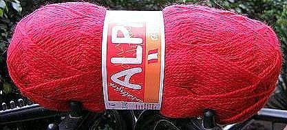 500 gramm red alpaca wool,knitting wool, yarn