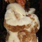Fur Jacket,coat made of Babyalpaca pelt, outerwear