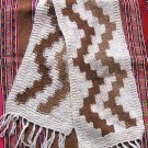 Folklorical peruvian scarf, shawl made of Alpacawool