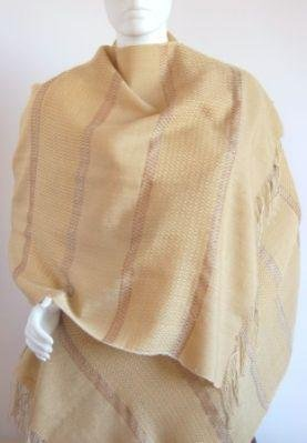 weaved shawl,scarf babyalpaca wool and silk