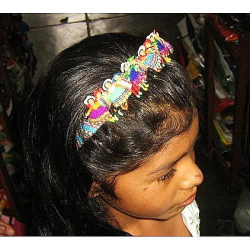 Puppet Doll Hair Grip Alice Band Typical from Peru