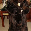 Long coat made of Alpaca fur, outerwear