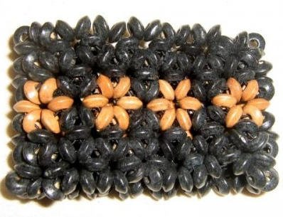 Amazon Ethno bracelet made from seeds