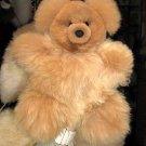 Pelt teddy bear, 35 cms. figure handmade