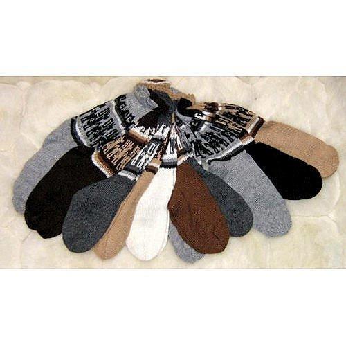 Bundle of 12 pairs socks made of Alpacawool