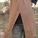 Brown scarf,shawl made of Alpaca wool