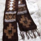Ethnic peruvian scarf, shawl made of Alpaca wool