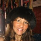 Black fur cap, babyalpaca fur hat