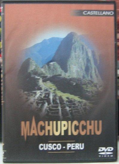 DVD,Machupichu and Cusco,Documentation of Peru
