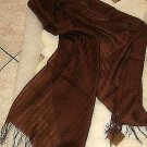 Scarf made of pure Babyalpaca wool & Silk,shawl