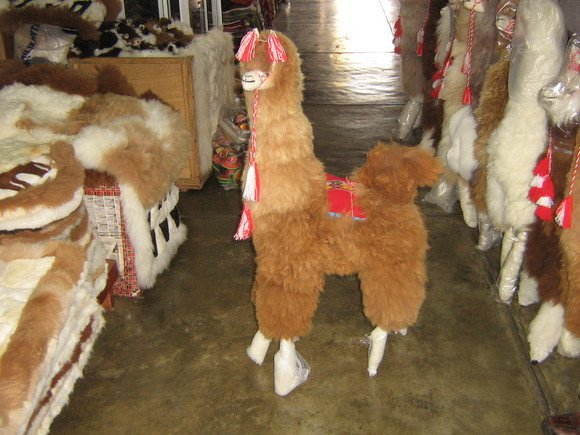 Alpaca fur toy,100 cm,original alpaca fur