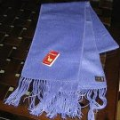 Light blue alpaca wool lighter scarf,shawl