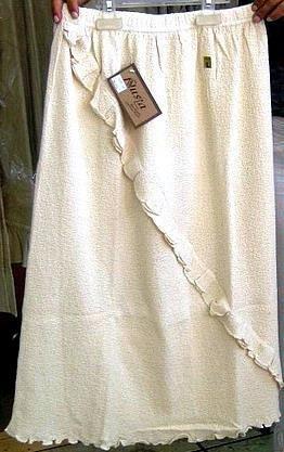 Elegant white Skirt from Nusta  100% pure pima cotton.