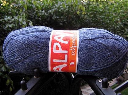 500 gramm blue alpaca wool,knitting wool, yarn