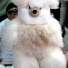 Fur teddy bear made of pure Babyalpaca fur, 32 Inches