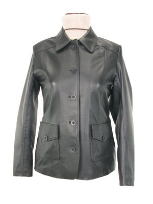 Genuine lamb nappa leather Jacket, outerwear