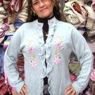 Ladies cardigan,jumper made of pure Alpacawool