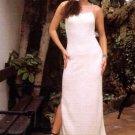 White long dress,100% ecological Pyma cotton