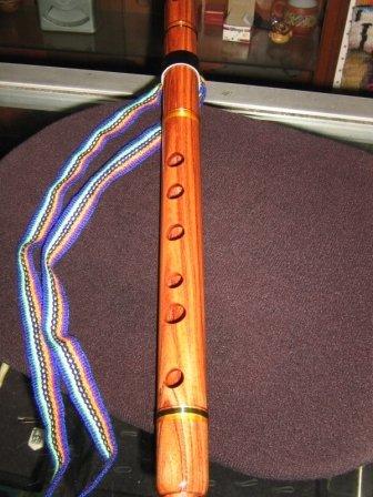 Original peruvian Pan-Pipe,flute, Quena