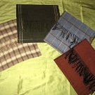 Set of 4 Babyalpaca wool / Silk scarfs, shawls