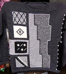 Sweater with round neck made of pure Alpacawool