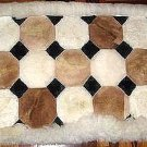 Alpaca fur rug from Peru,carpet of 39 x 23.6 inches