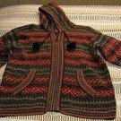 Hooded Cardigan, jacket made of Alpacawool