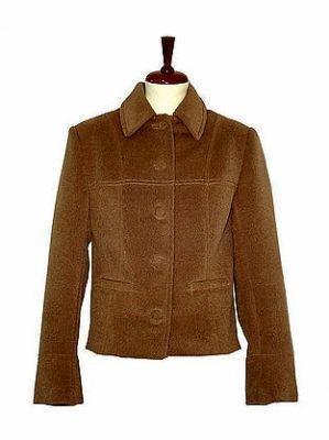 Brown Blazer,Jacket made of Babyalpaca fabric