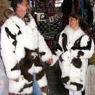 2 x Longcoats in a partnerlook, fancy idea for couples