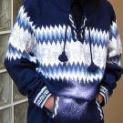 Ethnic peruvian Sweater, Jumper made of Alpacawool